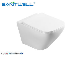 P Trap One Piece naścienny WC Gravity Flushing Ceramic Material
