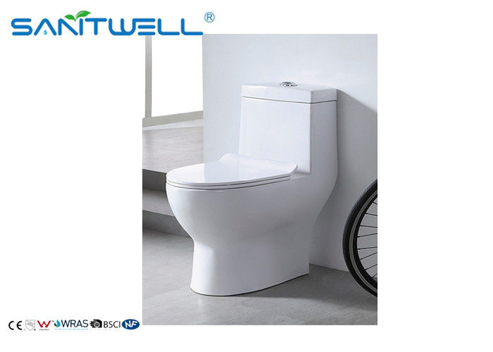 Sanitary Ware One Piece Toaleta, Wall Mounted WC Dual Flush Mechanism dostawca