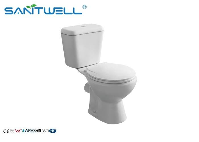 Classic Back to Wall Close Coupled Toilet White 665 * 375 * 725 mm dostawca